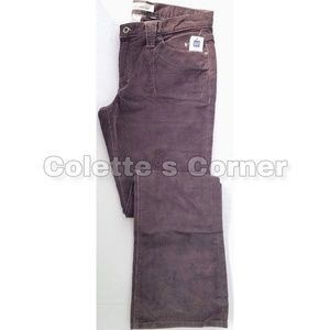 Gap Dark Brown Boot Cut Corduroy Pants